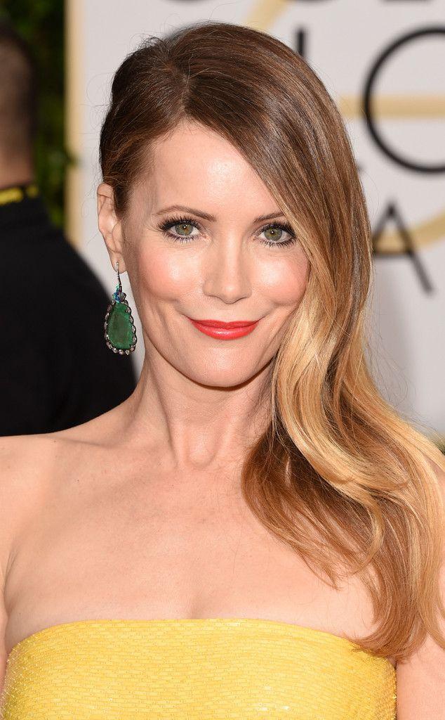 Leslie Mann from Get the Look 2015 Golden Globes Hair