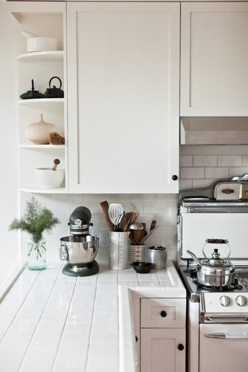 Totally Tiled 11 Kitchens With Unexpected Tile Details Tile