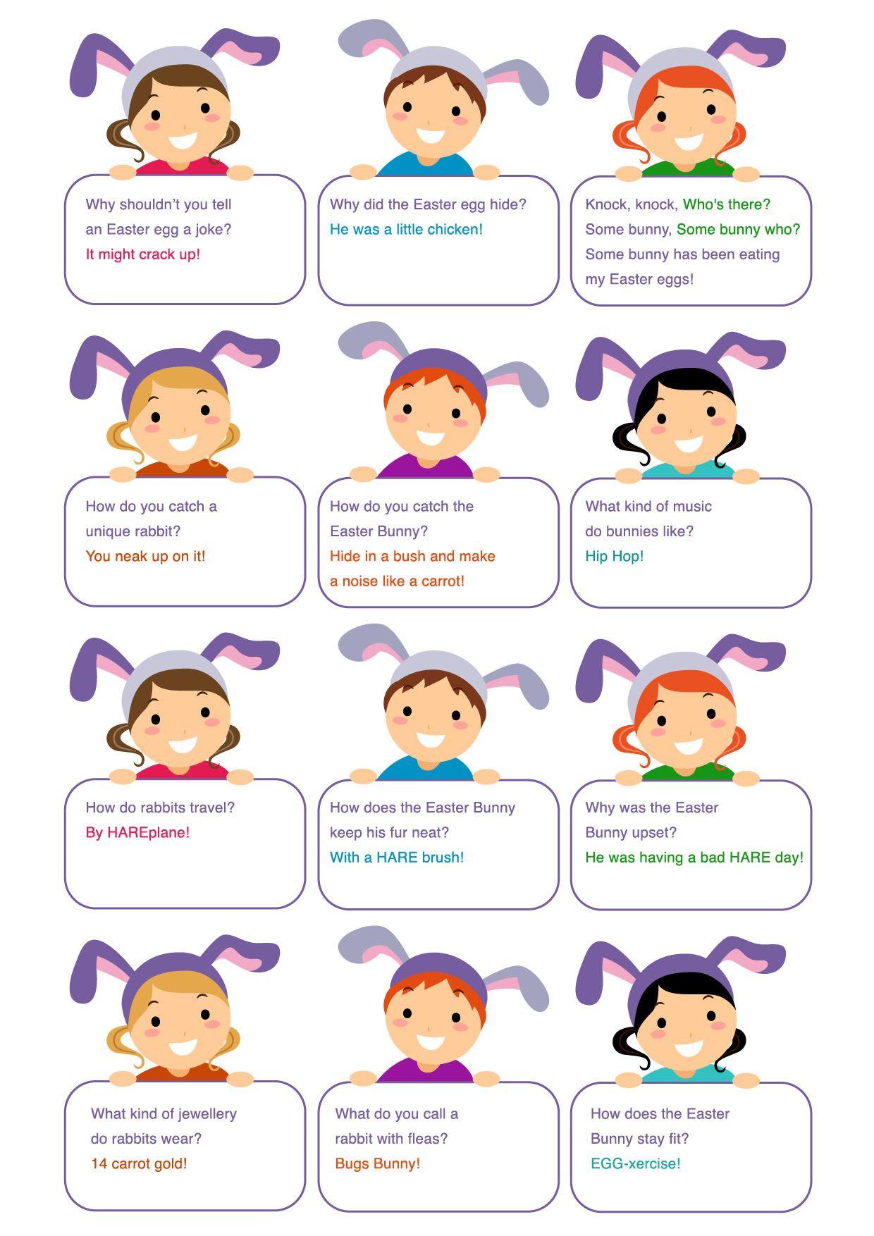 A bunch of corny Easter Jokes! Easter jokes, Jokes for