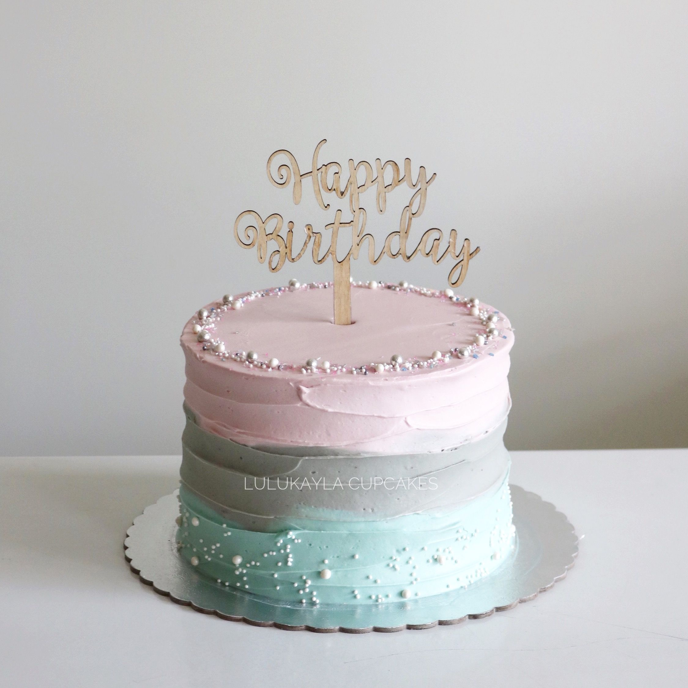 Pin By Lulu Kayla On Rustic Ombre Cake With Images 14th