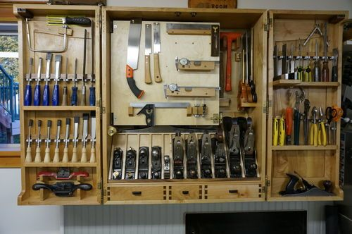 Building A Wall Hanging Tool Cabinet 7 Tool Cabinet 7 Woodworking Projects Tool Cabinet Woodworking Tool Cabinet