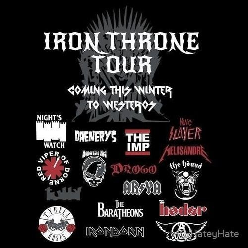 The IRON THRONE tour!