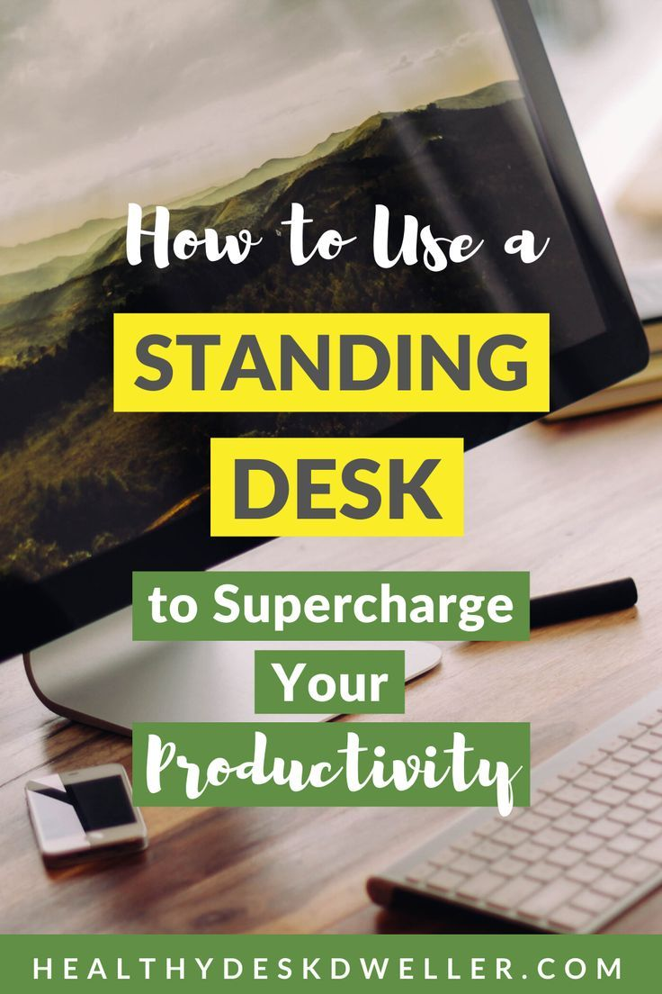 If you have a sedentary job or life, you might want to consider getting a standing desk. Knowing how...