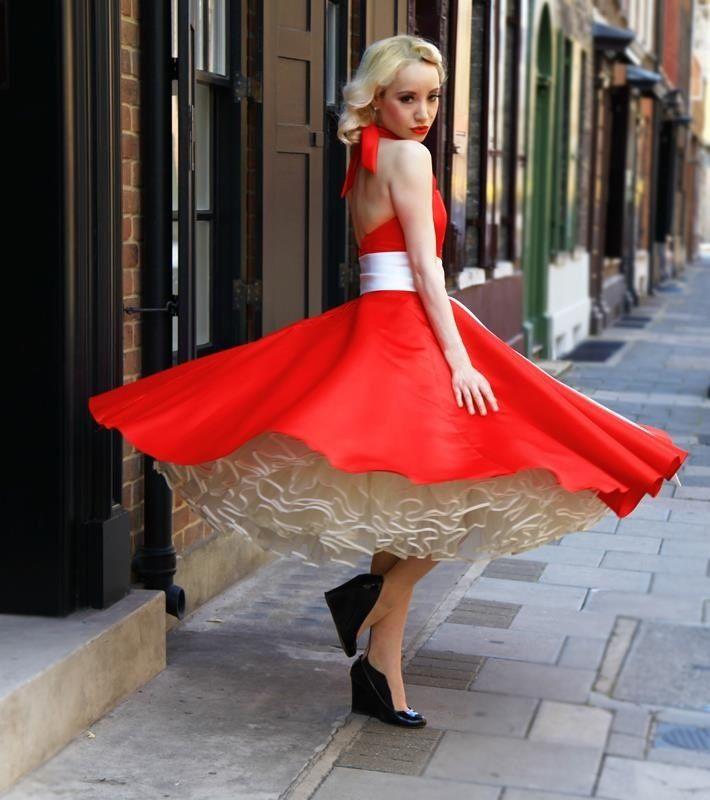 Everything Feminine Petticoat Dresses Pinterest Feminine Net Fashion And Street Wear