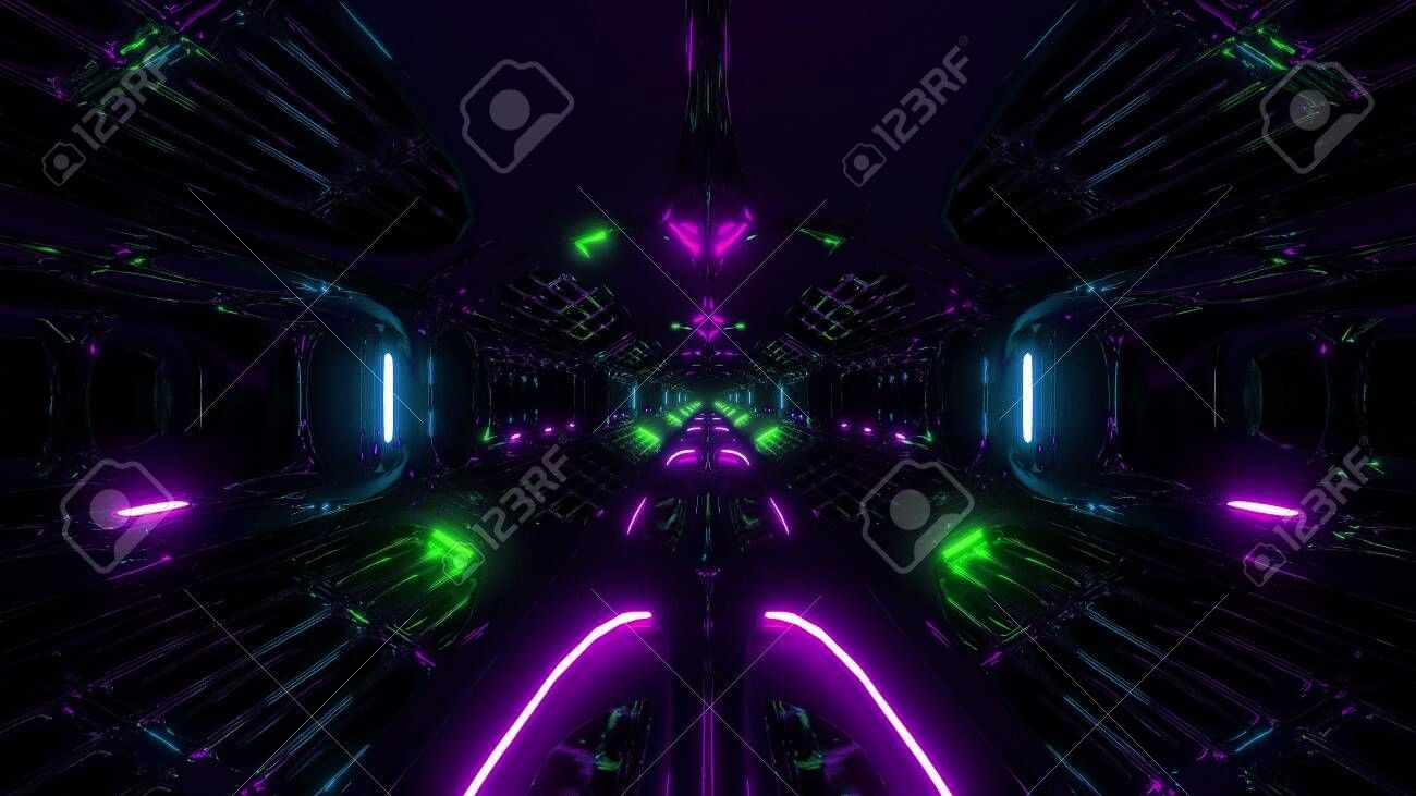Futuristic Background Rendering Wallpaper Corridor Fantasy Hangar Tunnel Scifi Alien Stock Photo 3d Adfuturistic Scifi Fantasy Sci Fi Fantasy Futuristic Wallpaper