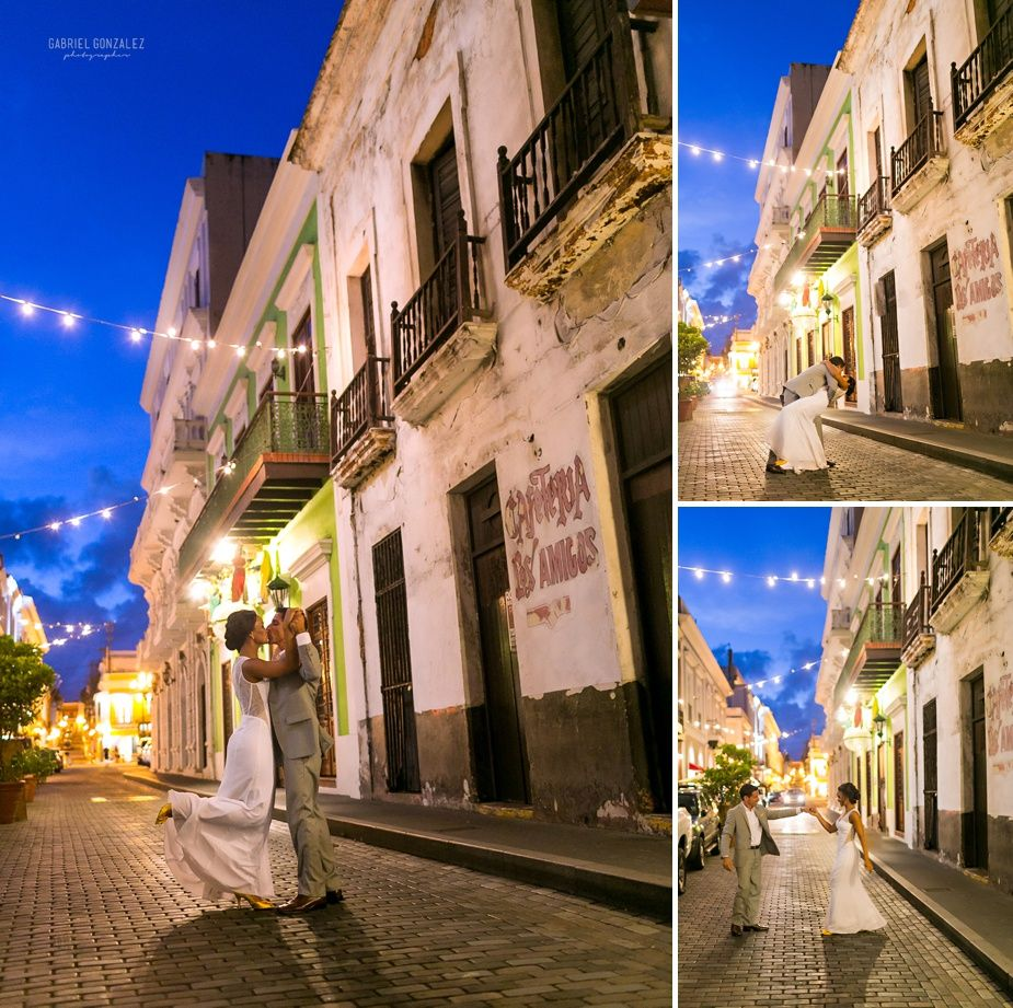 El Convento Old San Juan, Puerto Rico Destination Elopement by Gabriel González Photographer