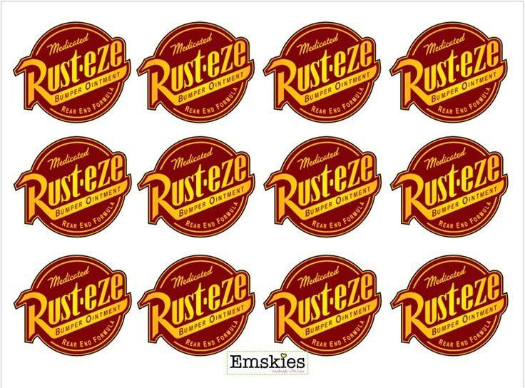 disney cars food labels | Disney Cars theme food label template ...