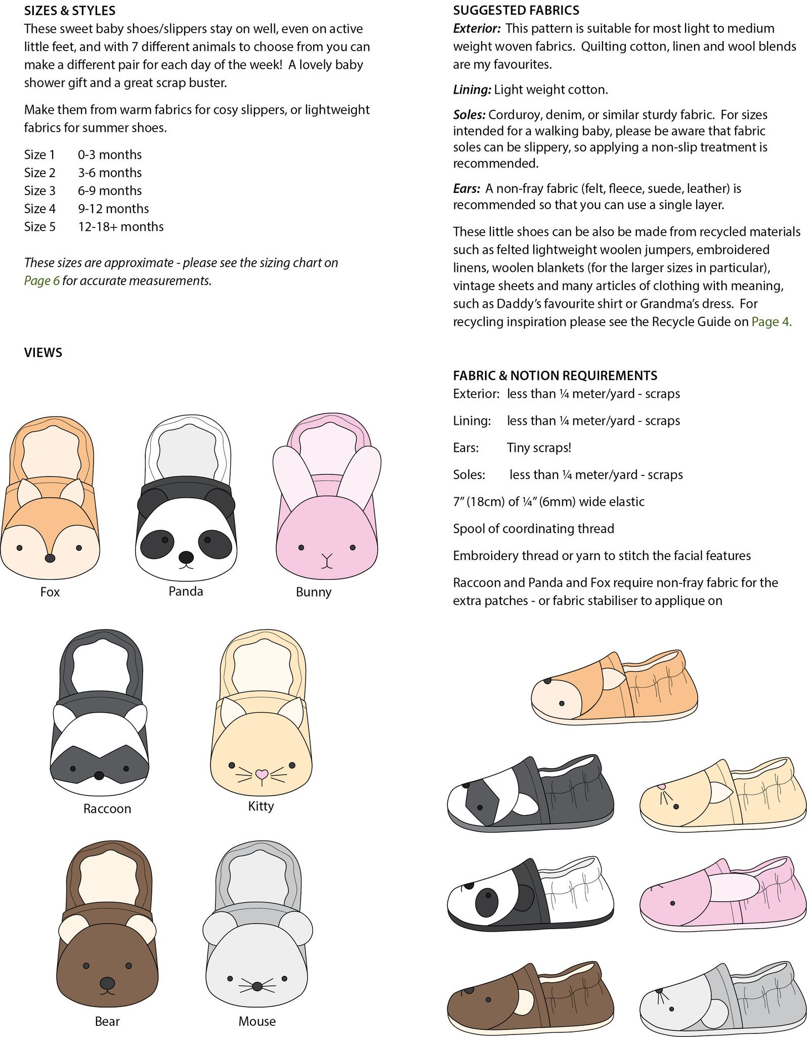 Wild Things Baby Shoes sewing projects Pinterest