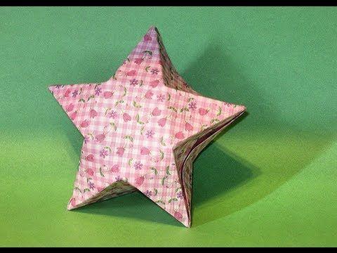 Origami Star Box Full Hd Http7tvorigami Star Box