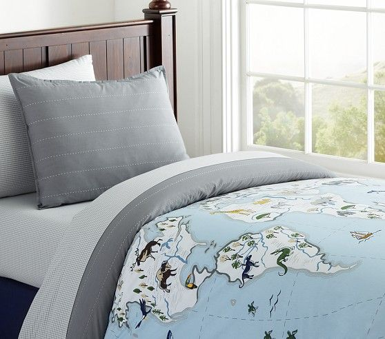 Map Duvet Cover Pottery Barn Kids No Longer Available But As