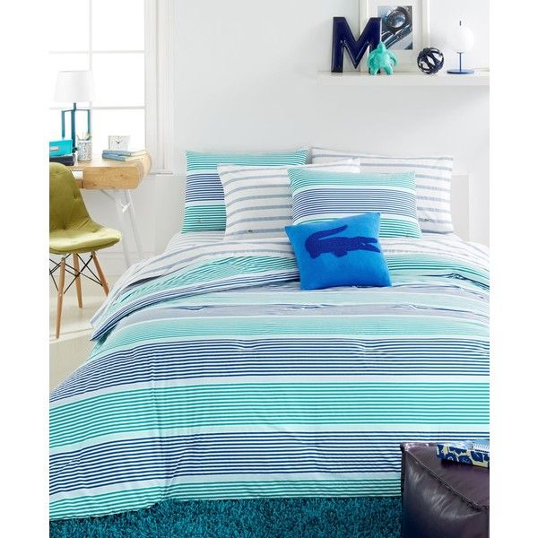 Lacoste College Collection Aviron Blue Twin Twin Xl Comforter Set Comforter Sets Blue Comforter Sets Bed Linens Luxury