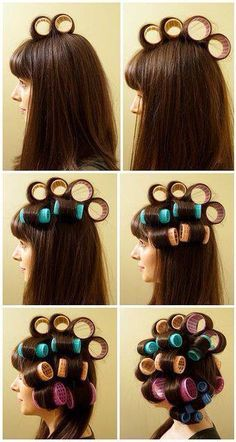 Guide To Help Put Rollers In Your Hair Hair Styles Pageant Hair Hair Beauty