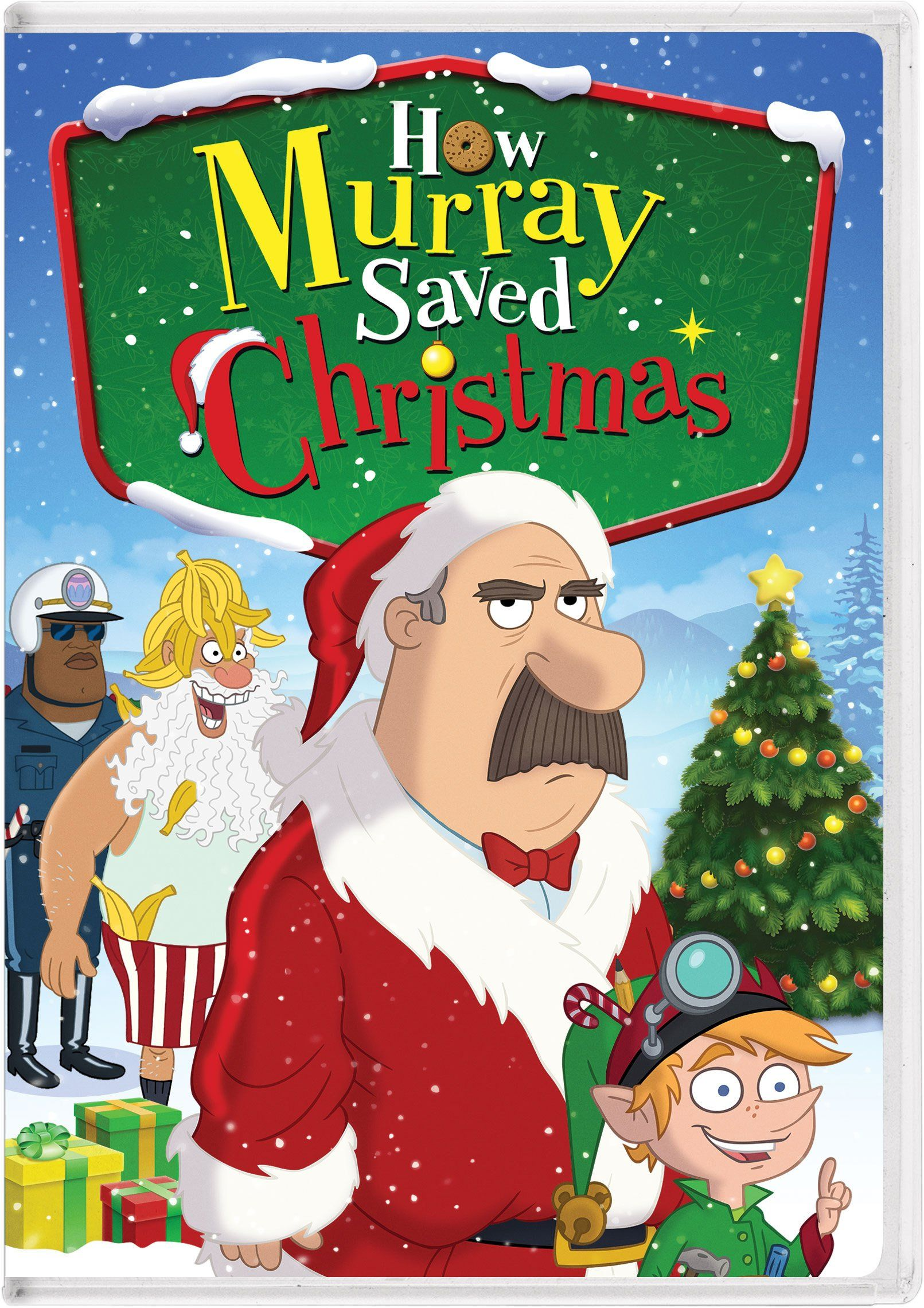how murray saved christmas december 16 2014 2014 dvdblu ray releases - Christmas Day Movie Releases