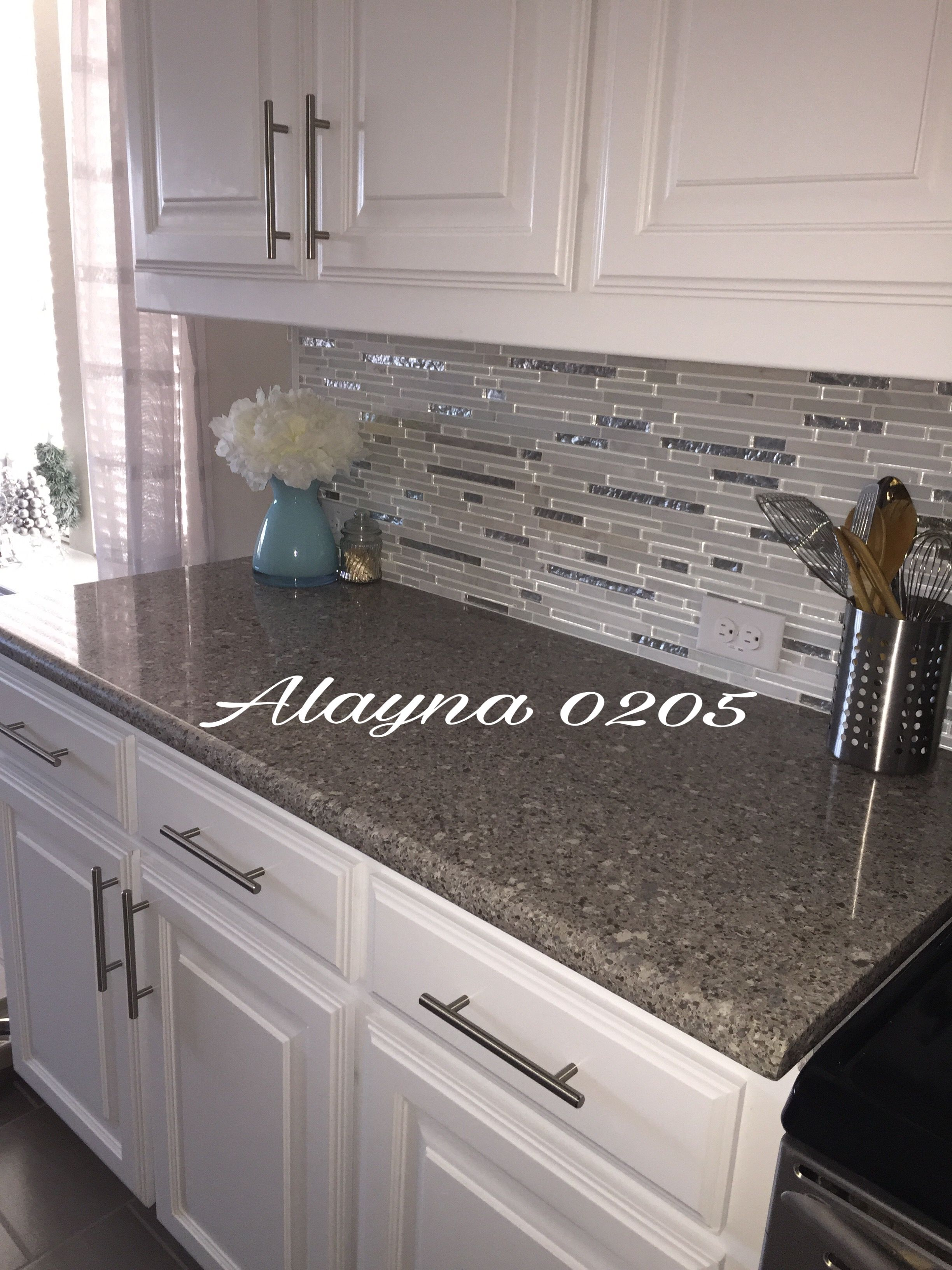 Alpina white quartz countertop ms cristallo interlocking Backsplash ideas quartz countertops