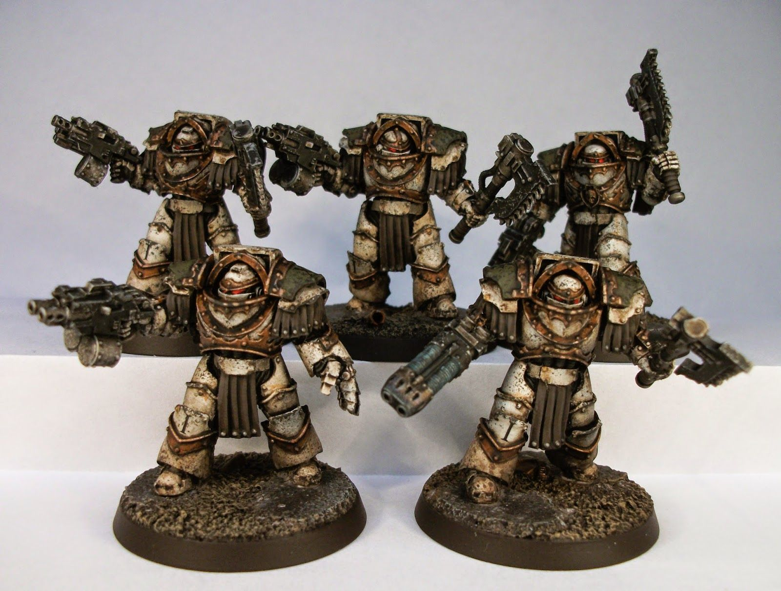 Pinturas Para Warhammer 40k Death Guard Terminators By Big Steve 30k Xiv
