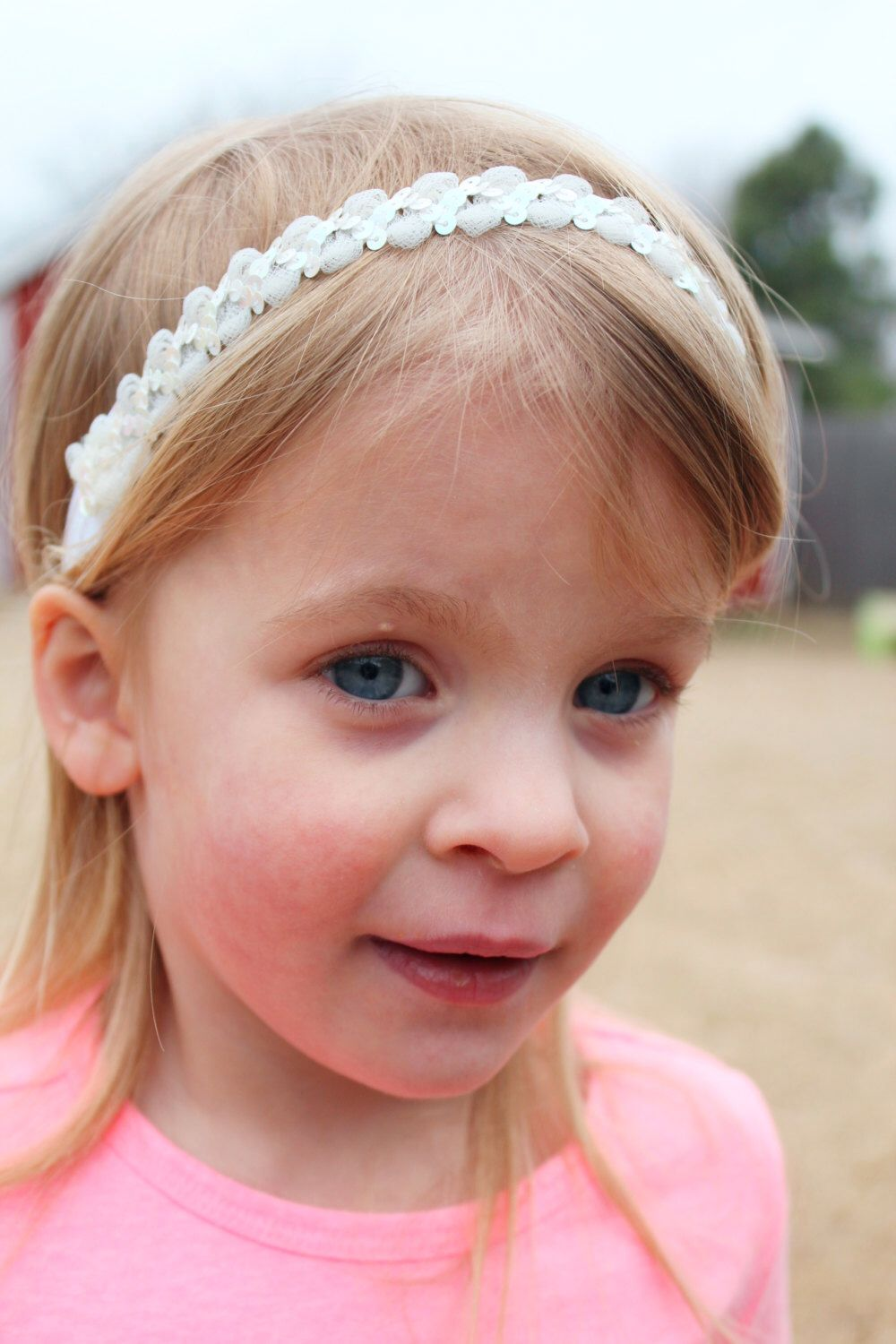 A personal favorite from my Etsy shop https://www.etsy.com/listing/222060923/white-sequin-elastic-headband