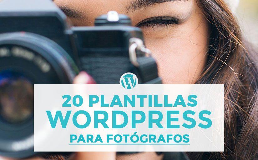 Estás buscando las mejores plantillas de WordPress fotografía gratis ...
