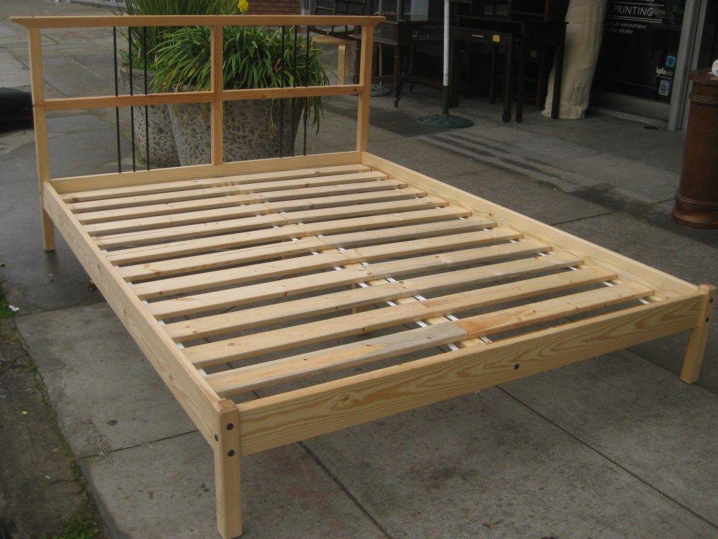 How To Build Platform Bed Frame Diy Platform Bed Frame Diy