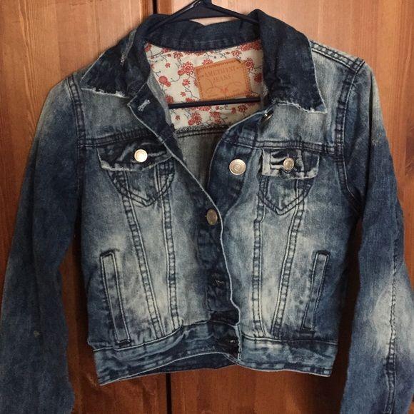Denim jacket Denim jacket never worn Jackets & Coats Jean Jackets