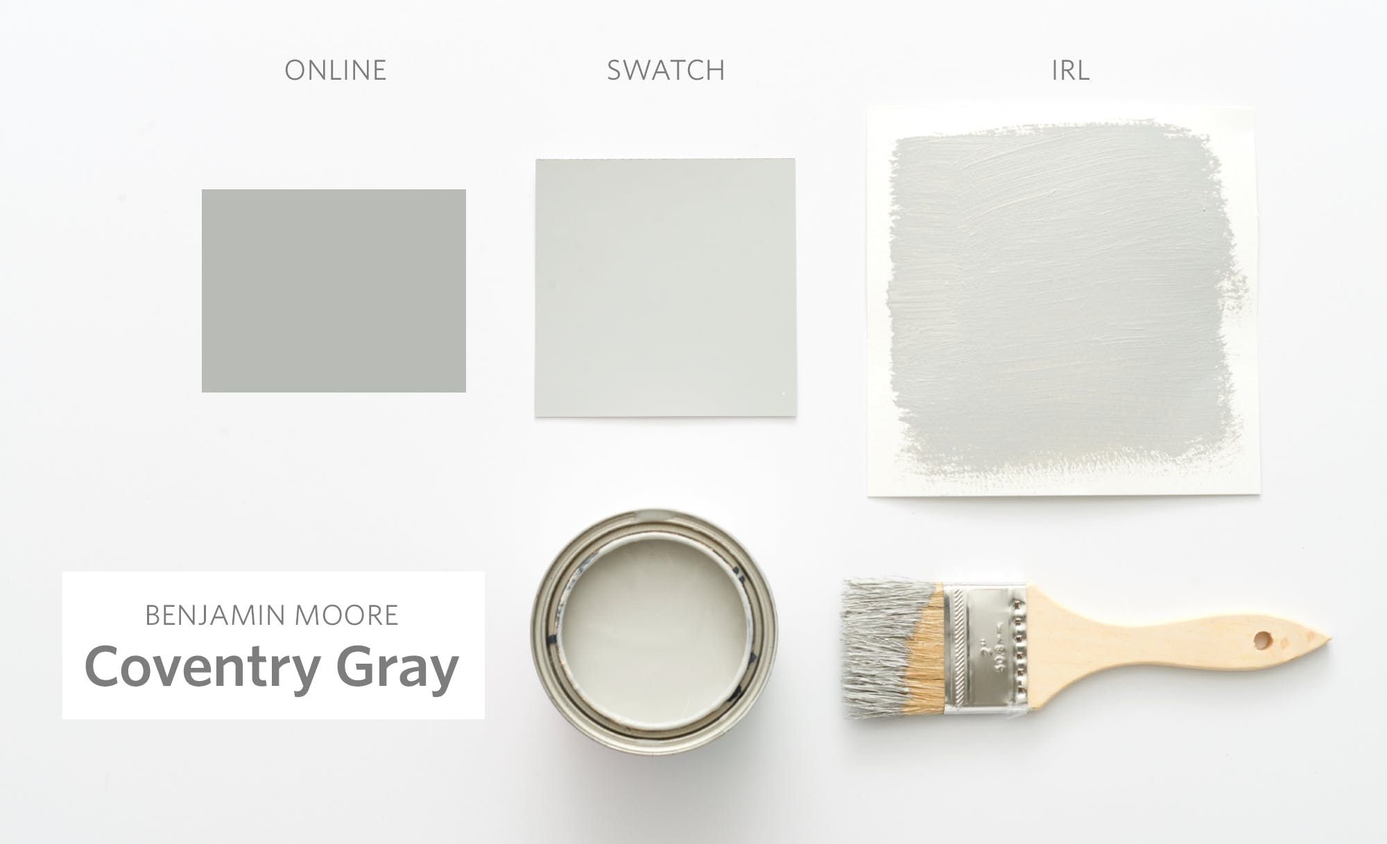 Color Cheat Sheet The 15 Most Perfect Gray Paint Colors Modern Palette