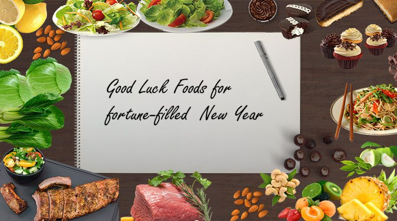 Good Luck Foods for fortunefilled New Year.
