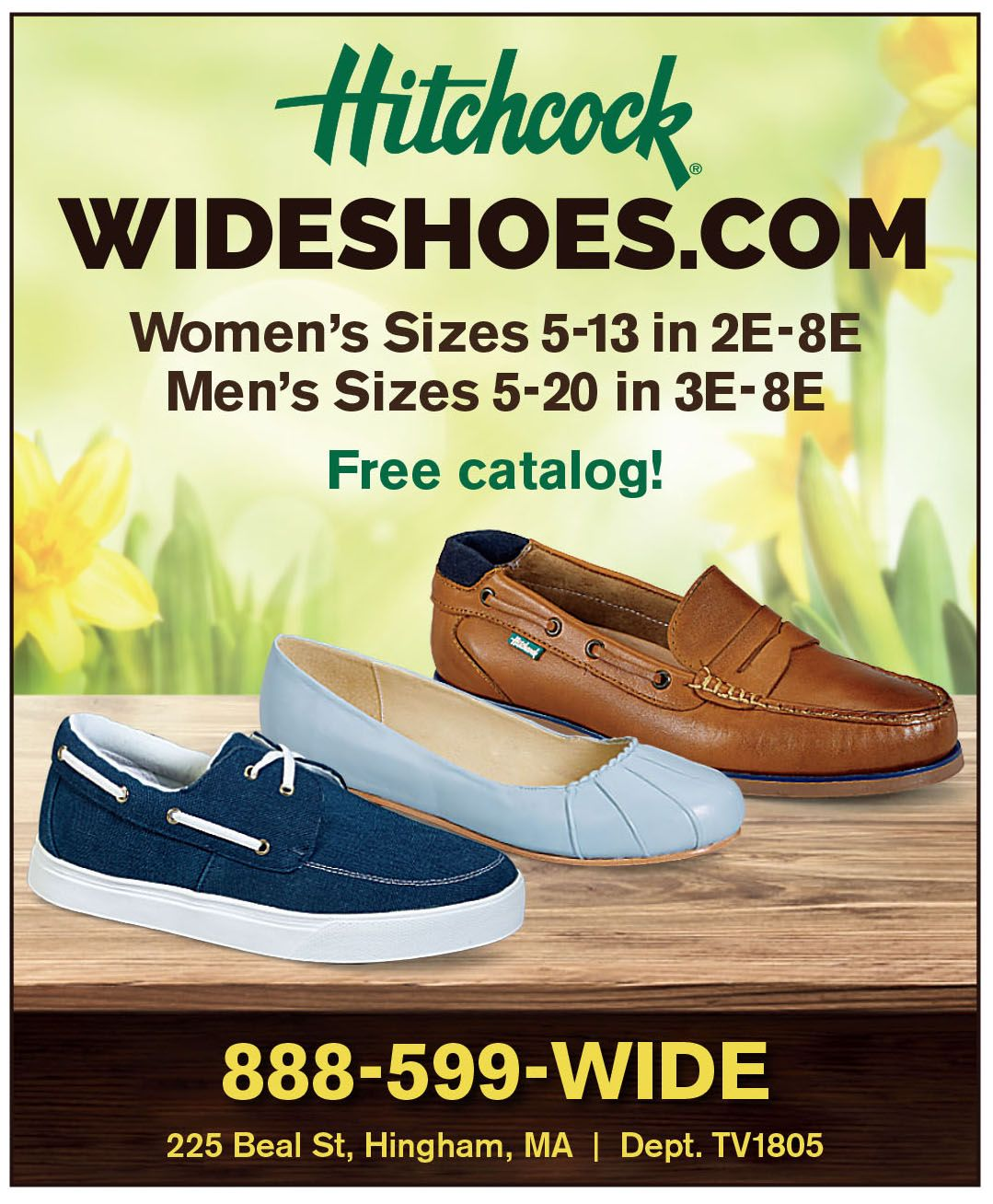 Wide shoes, Hitchcock shoes, Wide shoes