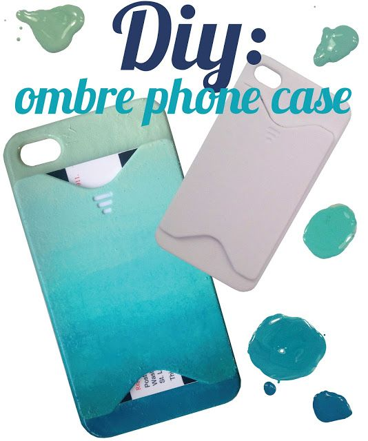 Cobalt Collective Ombre Phone Case Diy Iphone Case Diy Phone Case Diy Ombre