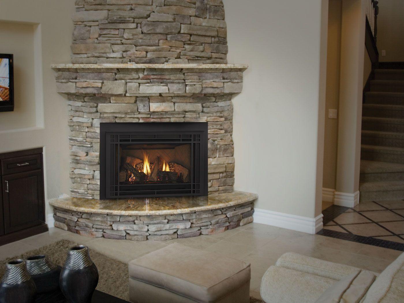 Lannon Stone Corner Stone Fireplace Corner Fireplace Corner