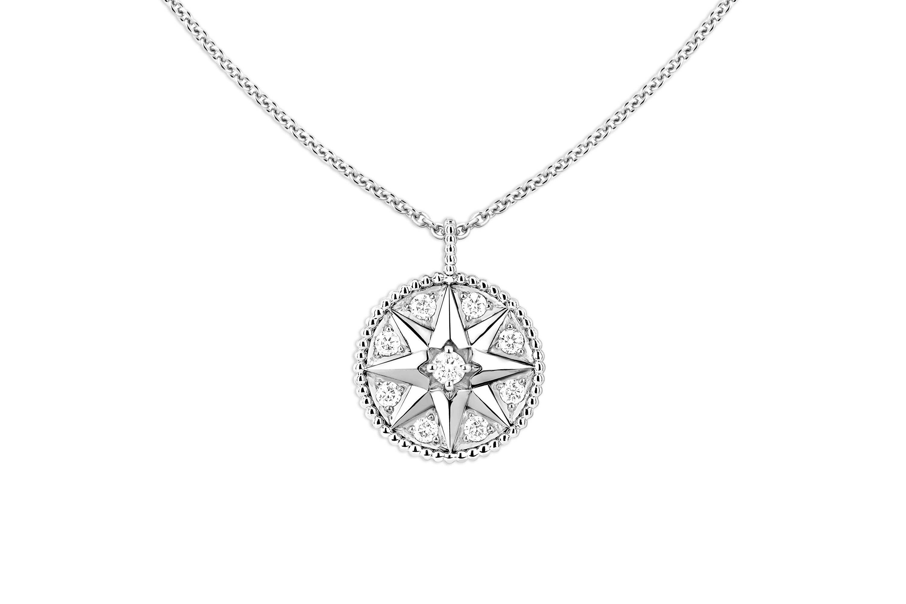 boutique diamond medalion pendant eye image chic necklace products evil earthy medallion