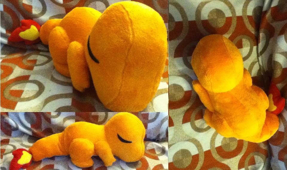 Sleepy Charmander Plush by GlacideaDay.deviantart.com on @deviantART ...
