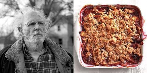 "Best Actor:Bruce Dern ""Nebraska"".Bruce Dern's Woody is an aging man who,due to booze and a desperate,impossible dream(to claim a million-dollar Mega Sweepstakes Marketing prize),crumbles before our eyes.Photo credit:Paramount Vantage;Martha Stewart-Peach Crumble By Everyday Food"