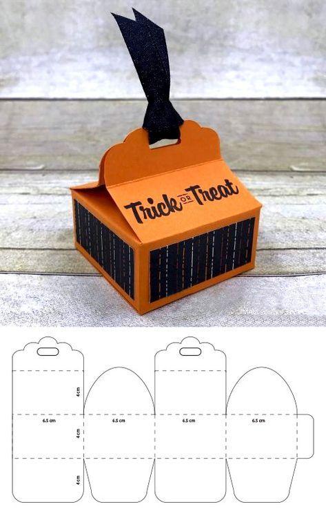 Cajitas Para Dulces De Halloween Halloweenbox Halloweenideas Cajasdehalloween Cajitas Cajaparadulces Candybox Cajas De Cartulina Cajas Para Regalar Cajas