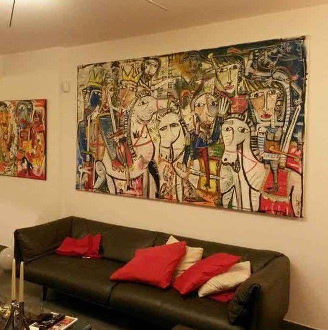 Quadri moderni grandi originali per arredam… | quadri moderni ...