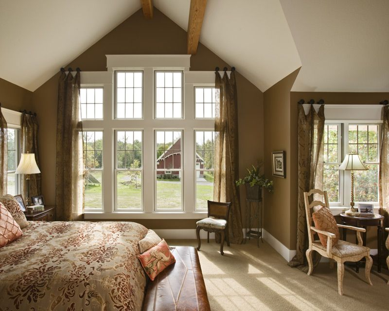 The Burnside Inn – Master Bedroom | High ceilings, Vaulted ceilings ...