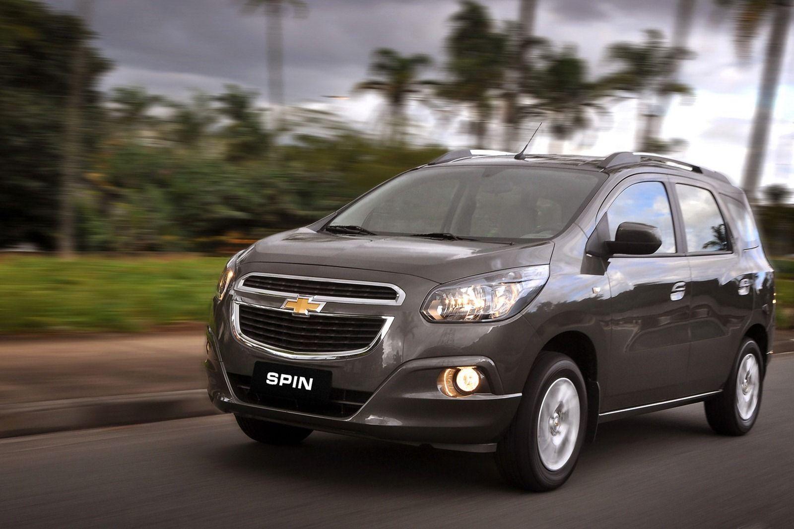 Chevrolet Spin Mpv Launched Hd Wallpaper Chevrolet Mobil Mpv Mobil