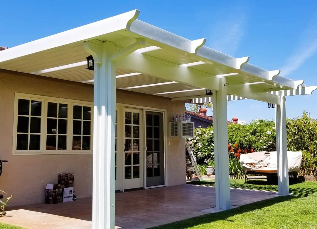 Alumawood Patio Cover With Skylights Aluminum Patio Covers
