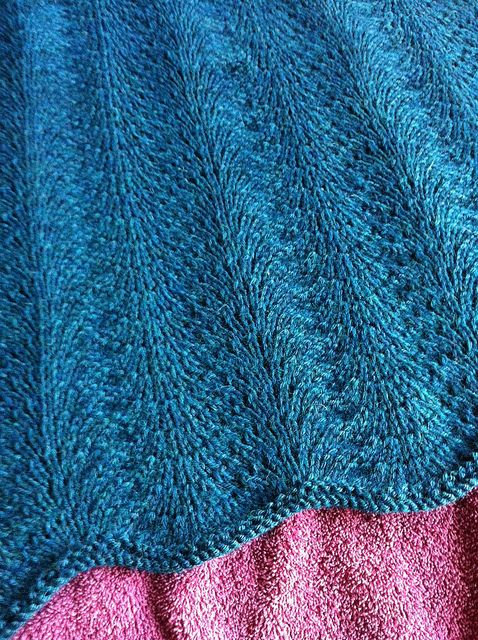 Free Pattern Sweet Pea Baby Blanket By Suzanne