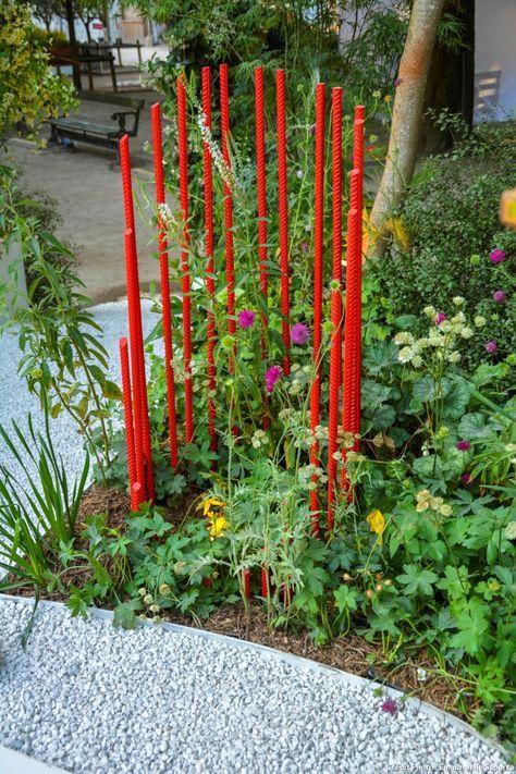 Un jardin secret, chic et plein d\'idées récup | garden ...