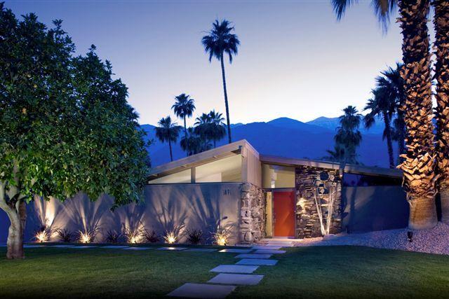 Mid Century Modern Home Palmsprings Palm Springs Mid Century