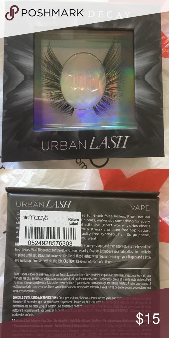 a555337288c Eyelashes Never used comes with glue ! Urban Decay Makeup False Eyelashes