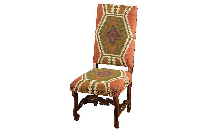 Atticus chair rustwalnut walnut chair side chairs