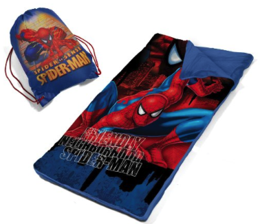 Amazon: Marvel Spiderman Slumber Bag Set for ONLY $9.98 (Reg. $19.99) - Mama Bees Freebies