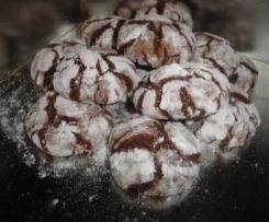 Chocolate Crinkles (craquelés au chocolat)