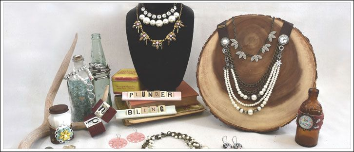 Plunder Design is a leading Vintage Jewelry company known for our shabby style and savvy prices! We offer a wide variety of pieces at super savvy prices. Whatever your style may be, Plunder Design has the perfect selection for your taste, with prices friendly to your wallet. Each piece is well thought out, with you in mind. It is so important to us that you have the best experience when selecting jewelry for special events, daily wear, work attire, gifting to your friends and so much more…
