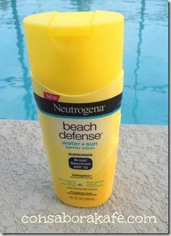 Protégete del sol con los protectores solares de Neutrogena #Sorteo
