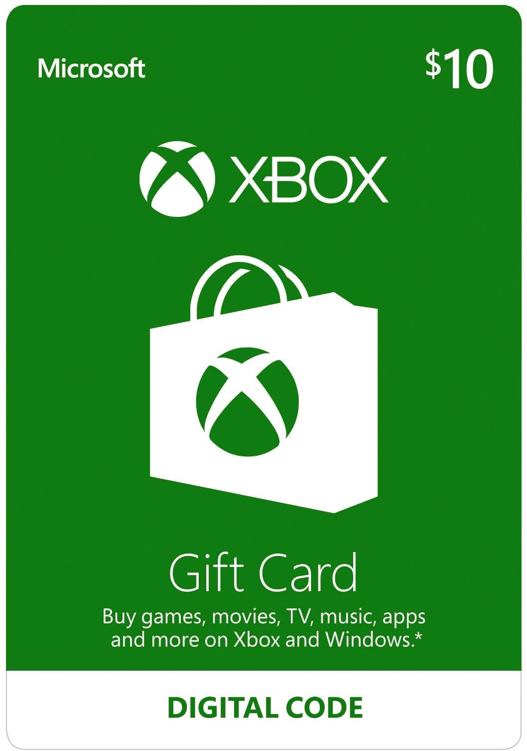 Amazon Com 10 Xbox Gift Card Digital Code Video Games Https