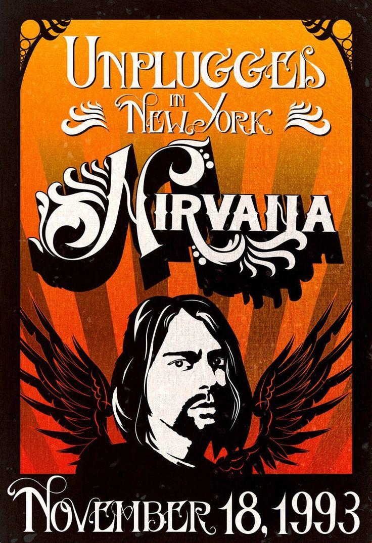 Resultado De Imagem Para Nirvana Concert Poster