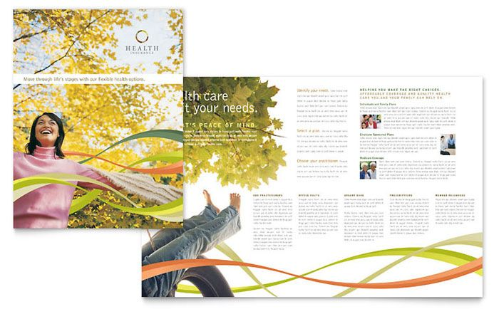 Health insurance company brochure design template by stocklayouts health insurance company brochure design template by stocklayouts altavistaventures Choice Image