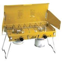 Kovea Deluxe Twin Gas Camp Stove - Isobutane in Yellow