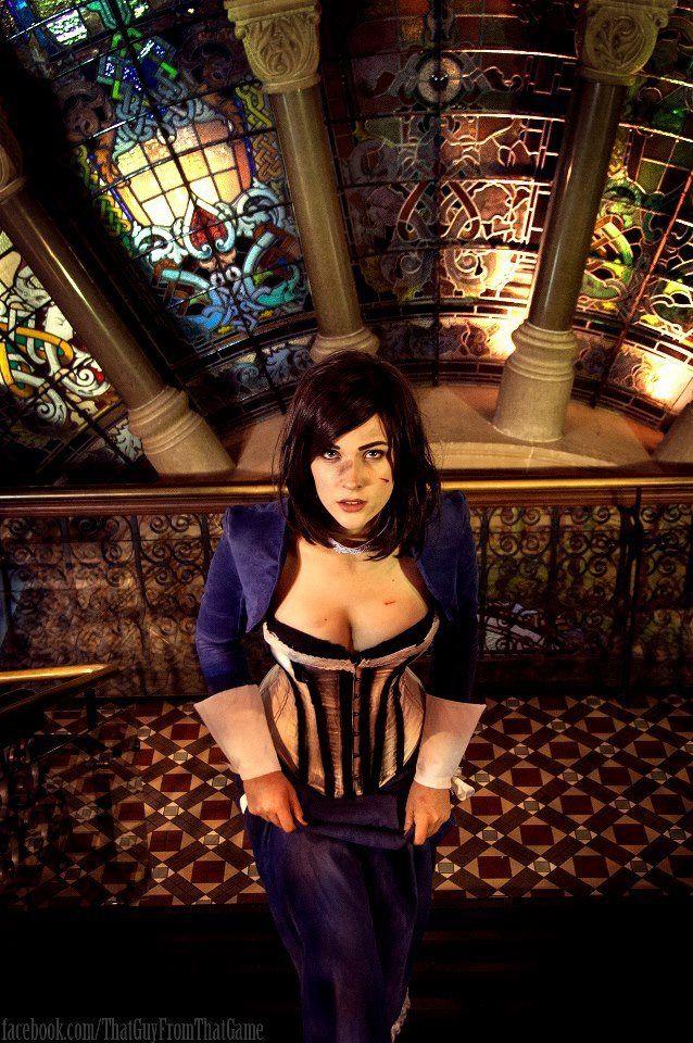 sexy Bioshock infinite elizabeth cosplay